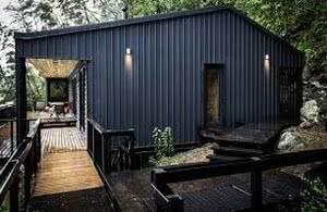 casa telha metalizada