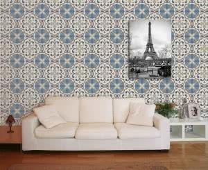 azulejos sofá sala