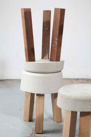 assentos de concreto
