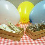Míni Engradados de Palitos para Lembrancinhas de Festa