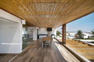 Forros de Bambu em Pérgolas