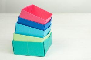 Como Fazer Caixas de Origami