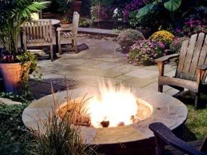 base fogueira pedra
