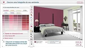 simulador de cor quarto