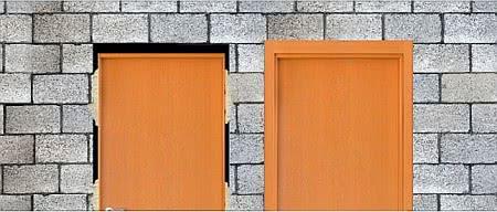 porta batente guarniçao alizar
