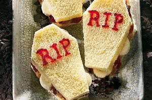 sanduíche caixões