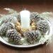 Pinhas Decorativas para Arranjos de Mesa do Natal