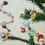 Enfeites de Pingente para Árvore de Natal Feitos com Chenille