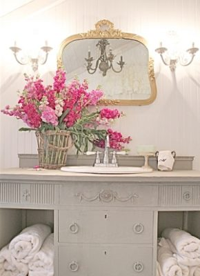 lavabo flor