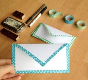 envelope washi