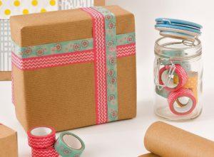 Como Usar Washi Tapes para Decorar Caixas de Presentes
