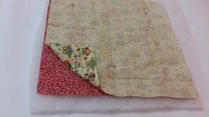 cestinha de paes tecido