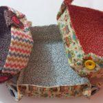 Como Costurar Cestinhas para Pão em Tecido