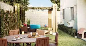 apto garden quintal