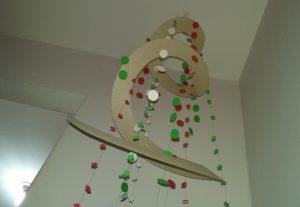 Móbile Decorativo para Festas de Fim de Ano