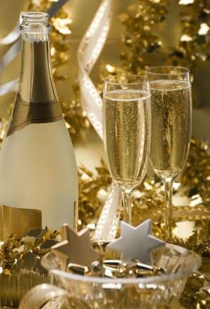 ano novo dourado
