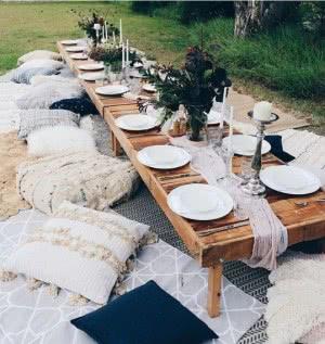 mesa baixa