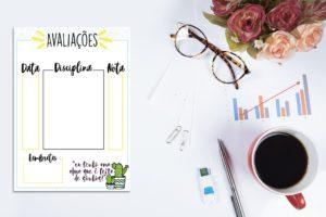Como Fazer um Planner de Estudos Personalizado