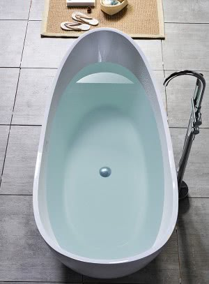 banheira corian