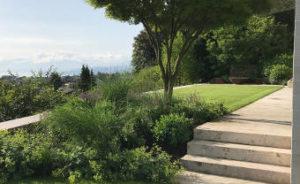 Jardim em patamar