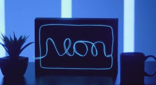Duas Formas de Fazer seu Próprio Letreiro de Neon