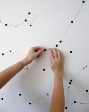 mapa astronômico
