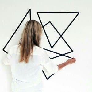 painéis geométricos