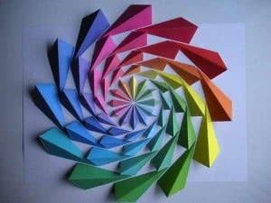 painel geométrico