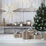 Decoração de Natal para o Hall de Entrada