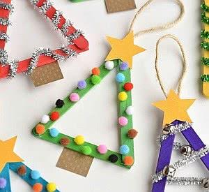 Crianças na Decoração de Natal