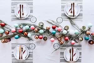 centros de mesa de Natal