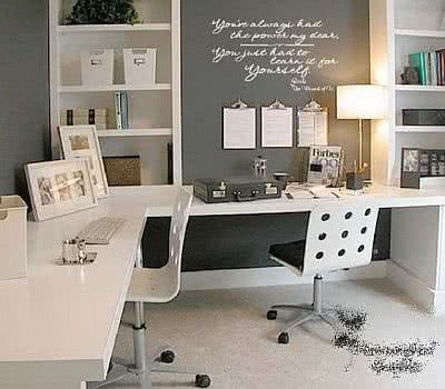 home office de casal